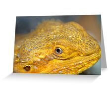 Bearded Dragons Profile Greeting Card