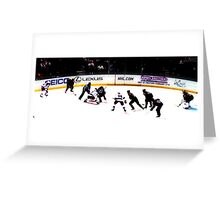 Rangers vs Panthers Greeting Card