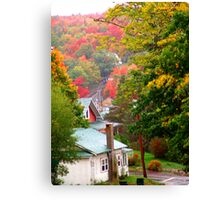 Homes in Bear River Canvas Print