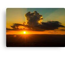 Puppy Cloud Canvas Print
