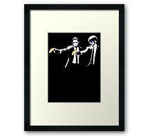 Pulp Fiction Banksy Framed Print
