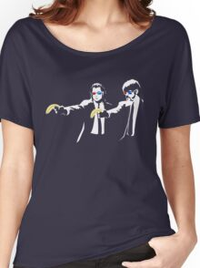 Pulp Fiction Banksy Women's Relaxed Fit T-Shirt
