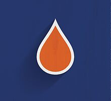 Edmonton Oilers Minimalist Print by SomebodyApparel