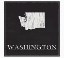 Washington Map Kids Tee