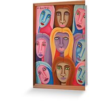 Diverse Unity Greeting Card
