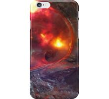 Flaming Seashell 5 iPhone Case/Skin