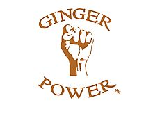 Ginger Power! Photographic Print