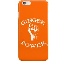 Ginger Power! iPhone Case/Skin