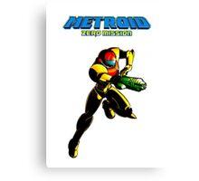Metroid: Zero Mission Canvas Print
