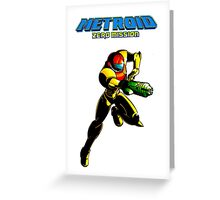 Metroid: Zero Mission Greeting Card