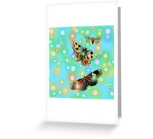 Fairy Dust And Butterflies Greeting Card