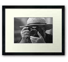 The Photographer Framed Print