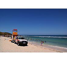 Surf Rescue unit Photographic Print