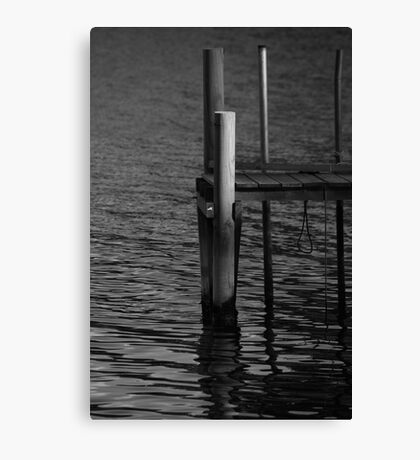 End of the Jetty Canvas Print
