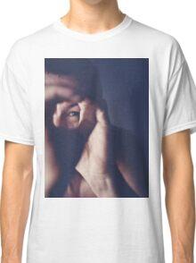 Self portrait photographer Edward Olive ra4 darkroom handmade print c41 color negative analog film photo Classic T-Shirt