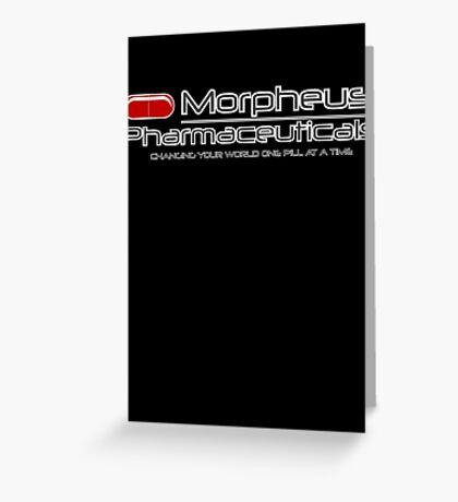 Morpheus Pharmaceuticals Greeting Card