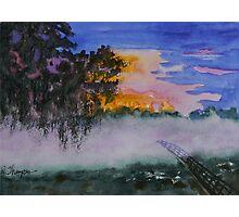 Fog at Sunrise Photographic Print