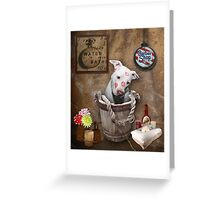 Bath Time Greeting Card
