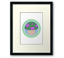 Teemo Shroom Framed Print