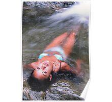 Rebecca - Huntington River Poster