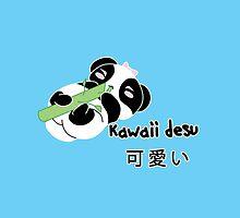 Panda Kawaii desu ni by zerojigoku