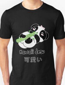 Panda Kawaii desu ni Unisex T-Shirt