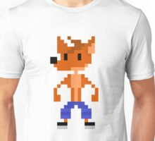 Crash Bandicoot Pixel Unisex T-Shirt