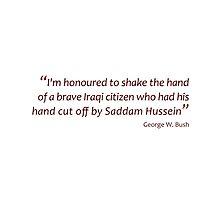 Shake the hand... (Amazing Sayings) by gshapley