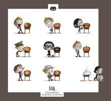 Little Halloween Pumpkin Contest One Piece - Short Sleeve