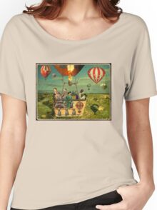 Ballooning on Sunday Women's Relaxed Fit T-Shirt