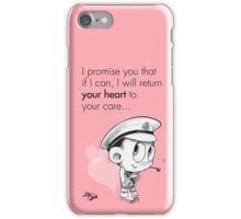 Valentine's  Little Captain Nicholls iPhone Case/Skin