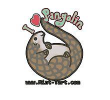 I ❤ Pangolins by zerojigoku