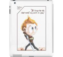 Coriolanus quote iPad Case/Skin