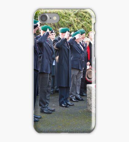 5 Bootnecks & a Wreath iPhone Case/Skin