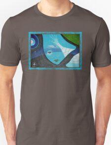 blue rising T-Shirt