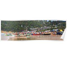 Lorne SLSC surf carnival Feb 2009 (50) Poster