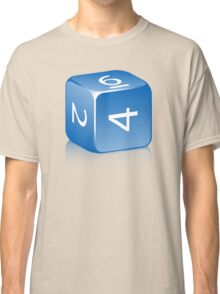 6-sided Die Classic T-Shirt