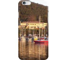 Oyster Cove Inn and Marina at Kettering, Tasmania iPhone Case/Skin