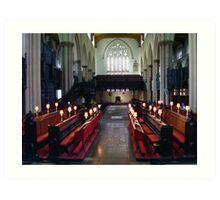 Leeds Parish Church Art Print