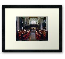 Leeds Parish Church Framed Print