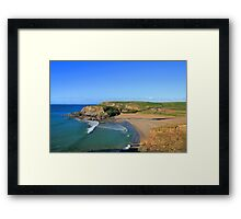 Church Cove Framed Print