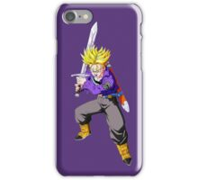 Dragon Ball Z - Super Saiyan Trunks  iPhone Case/Skin