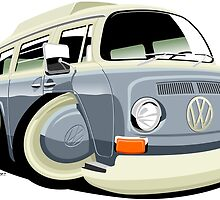 VW bay window T2 bus by car2oonz