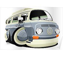 VW bay window T2 bus Poster
