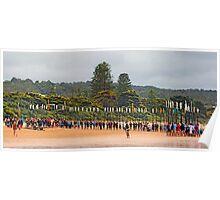 Lorne SLSC surf carnival Feb 2009 (55) Poster