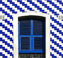 Blue & White by EvaMarIza