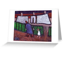 Come along child Greeting Card
