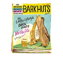 Latte-lifestyle Bark Huts by anna hoyle