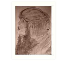 Sepia toned Virtuous Women! Art Print