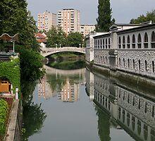 Ljubljana Reflections by Jenny Brice